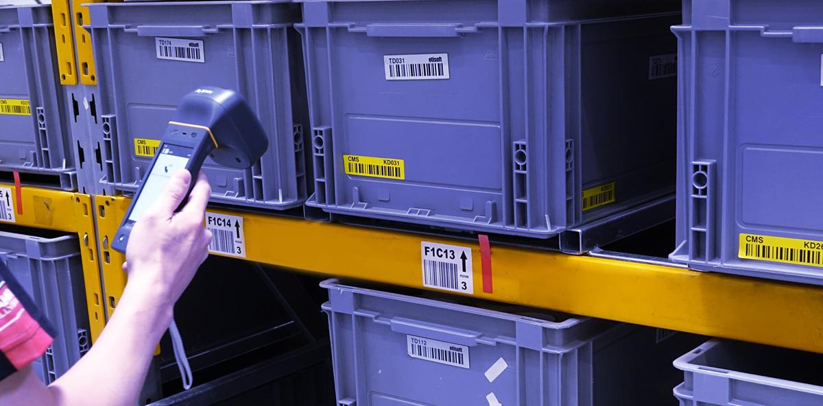 etykiety RFID, etykiety na pojemniki, etykiety samoprzylepne