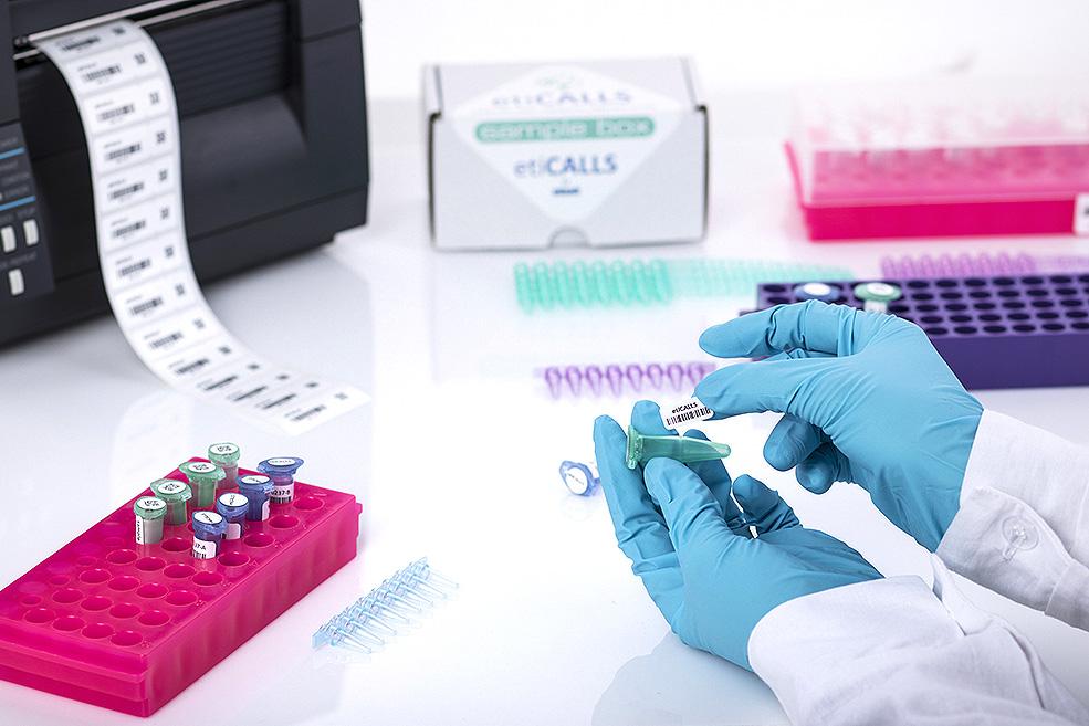 etykiety na fiolki i próbki, etykiety dla laboratoriów, etykiety i oznaczenia dla laboratoriów, eticalls,