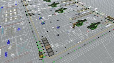 wdrożenie robotów mobilnych, roboty mobilne AGV, wózek AGV, wózki AGV, pojazdy AGV, wdrożenie robotów mobilnych