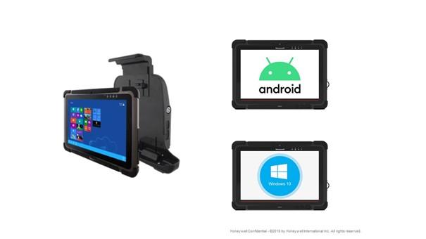 kolektor danych, terminal mobilny, terminal kodów kreskowych, wózek widłowy